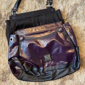Miche base Bag with Purple Cover